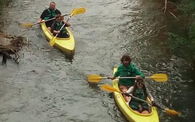 Descente de la Dyle en Kayak 25 et 26 avril 2020